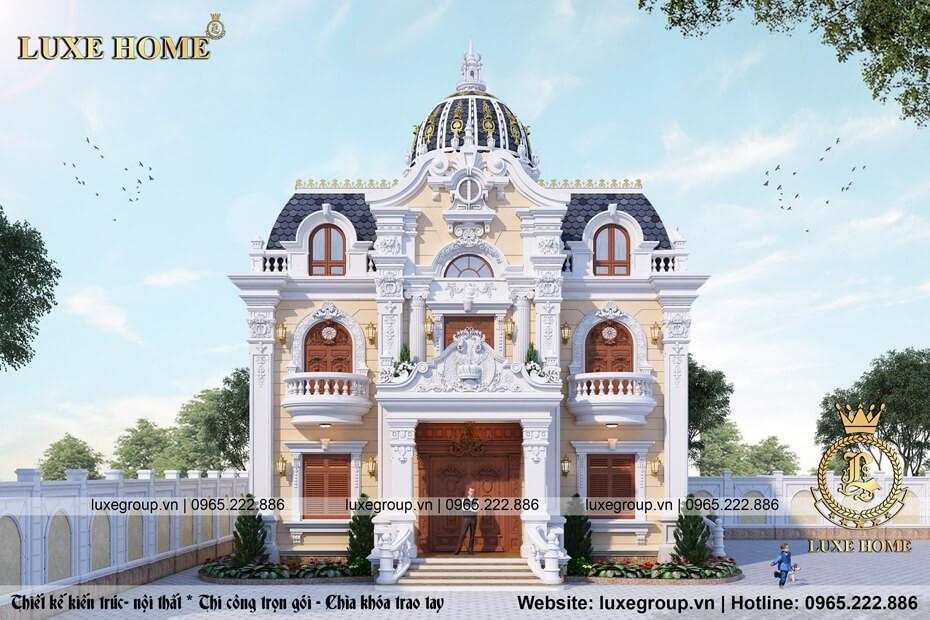 thiết kế lâu đài cổ điển pháp ld 2119