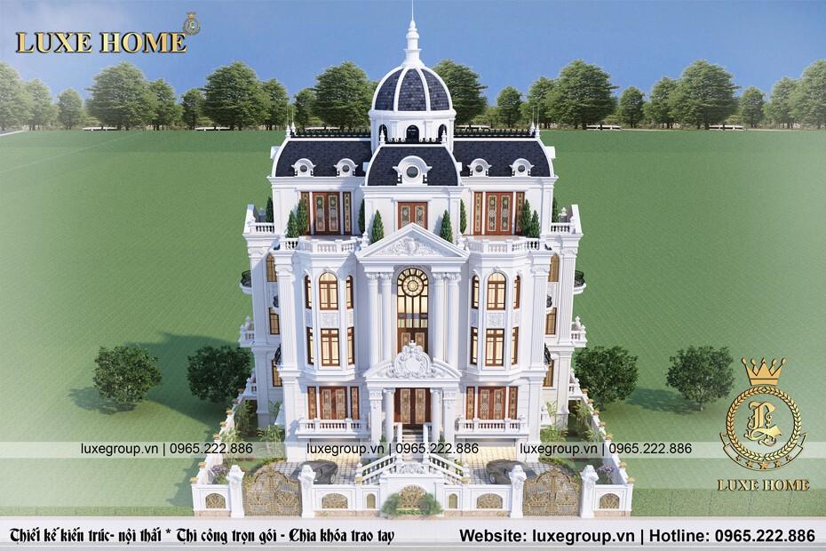 lâu đài tân cổ điển pháp ld 4111