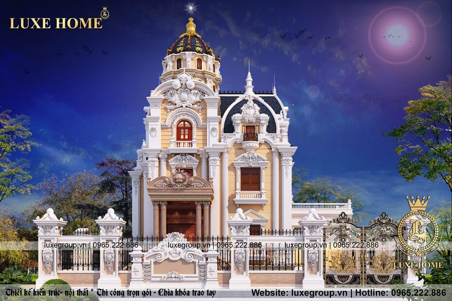 thiết kế lâu đài pháp ld 3158