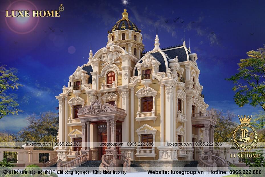 lâu đài cổ điển 3 tầng vĩnh phúc ld 3159