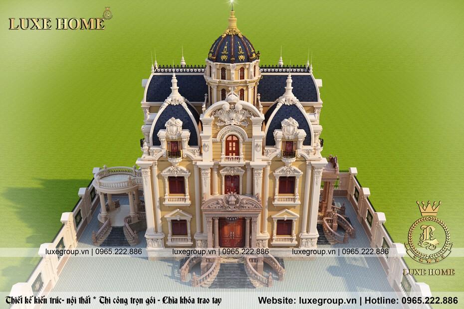 thiết kế lâu đài cổ điển ld 3159