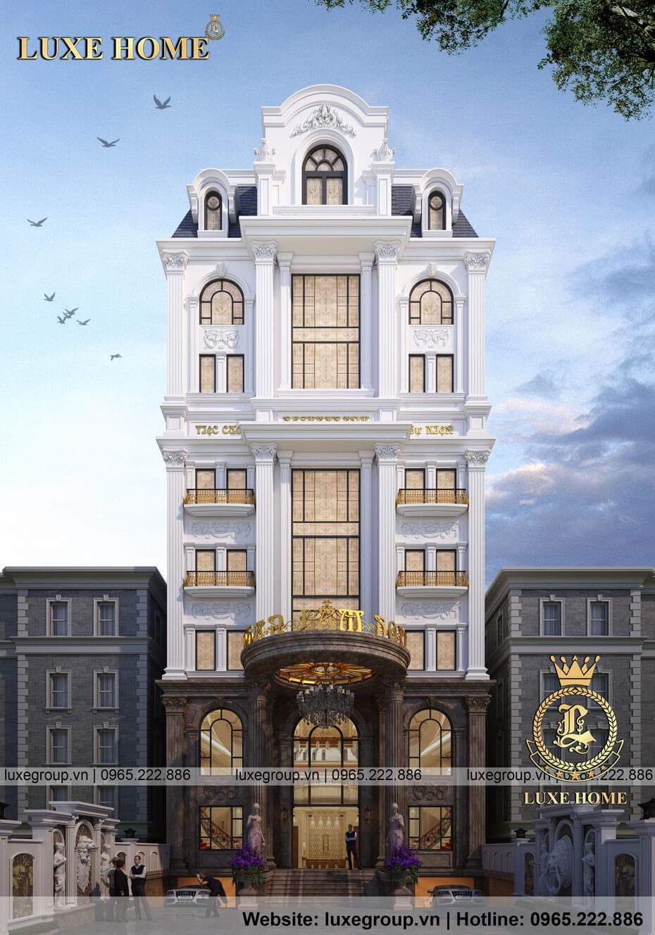khách sạn tân cổ điển 8 tầng ks 8111