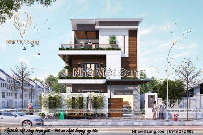 Biệt Thự Hiện Đại 3 Tầng Tại Nha Trang – Mã số: BT 3111