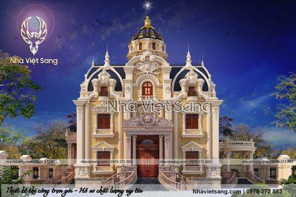 Lâu đài cổ điển 3 tầng đẳng cấp hoa lệ – LD 3159