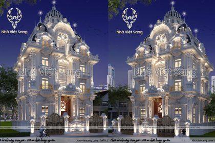 Siêu phẩm lâu đài 5 tầng cổ điển Pháp tại Sài Gòn – LD 5116