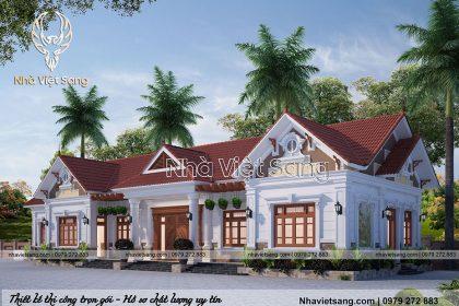 biệt thự hiện đại 1 tầng tại Ninh Bình bt 1120 02