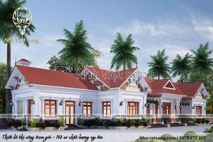 biệt thự hiện đại 1 tầng tại Ninh Bình bt 1120 03