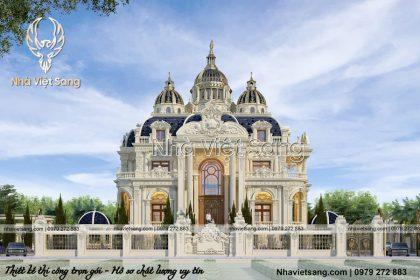 Lâu đài cổ điển 2 tầng pháp đẹp lộng lẫy xa hoa – LD 2283