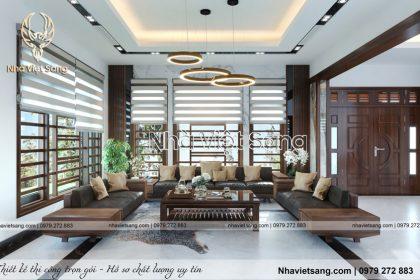 Nội thất hiện đại biệt thự nhà Anh Tùng – NT 3193