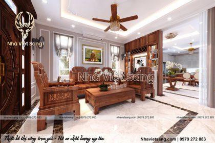 Thiết kế nội thất tân cổ điển sang trọng Tại Thanh Hóa – NT 2216