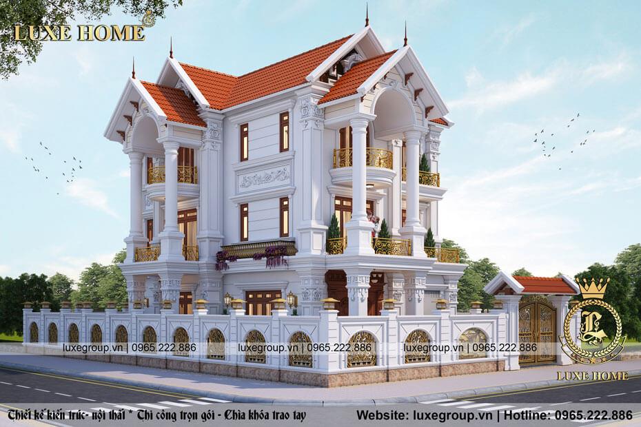 biệt thự 3 tầng tân cổ điển bt 31656 02