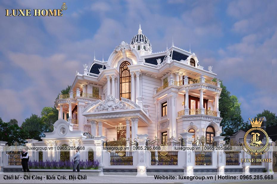biệt thự 4 tâng luxe home