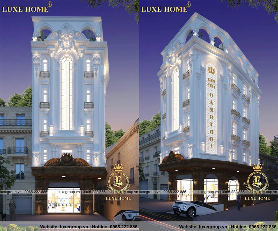 mẫu thiết kế nhà biệt thự 6 tầng bt 61112