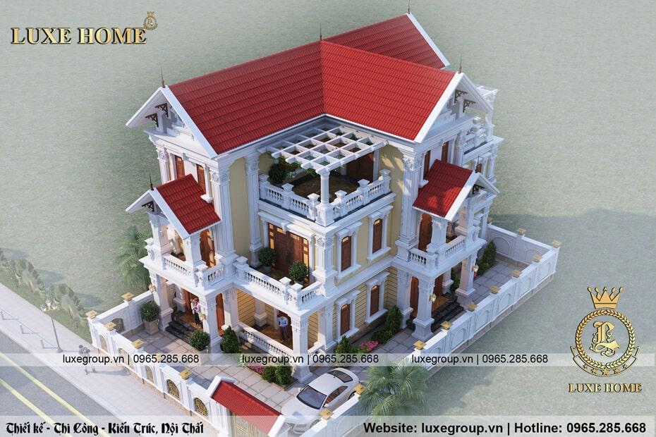 biệt thự tân cổ điển 3 tầng 3177 03