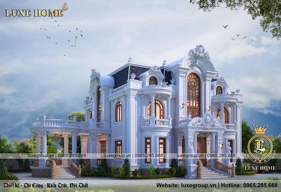 thiết kế lâu đài tân cổ điển ld 2244
