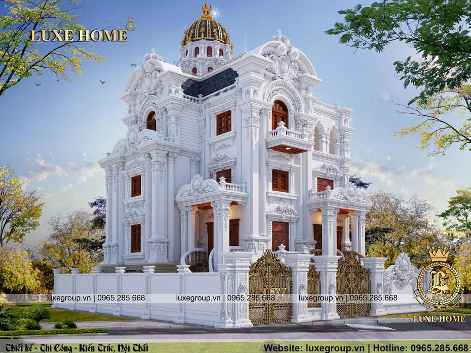 thiết kế lâu đài cổ điển đẳng cấp ld 3231