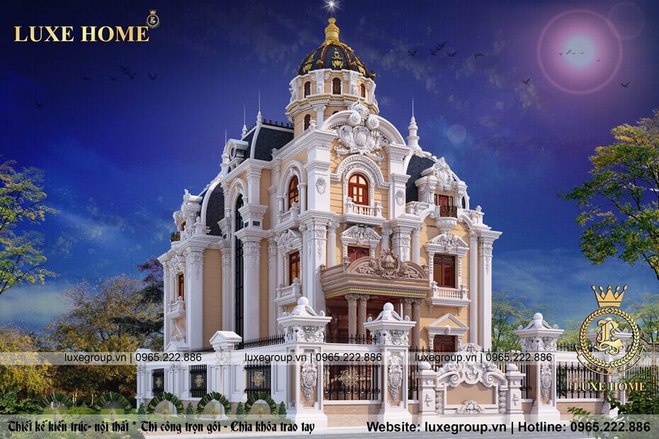 lâu đài cổ điển 3 tầng ld 31588