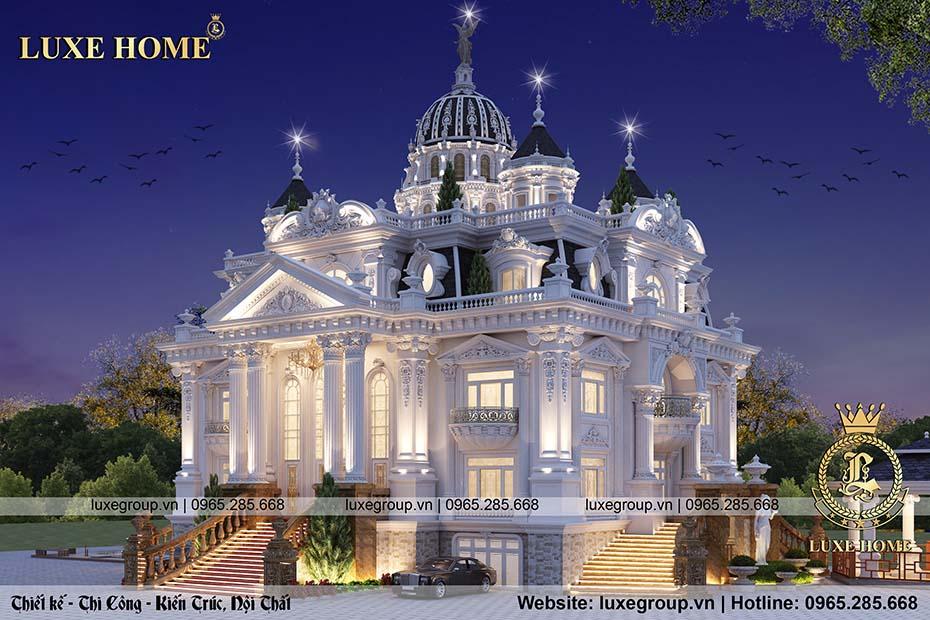 lâu đài phong cách pháp ld 41155