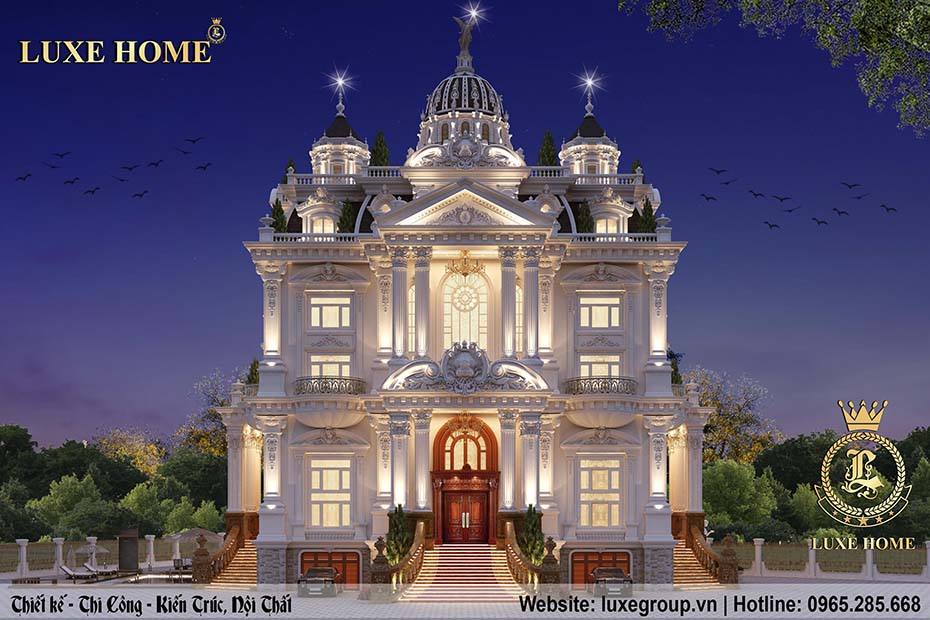 lâu đài cổ điển nhà anh tha ld 5112