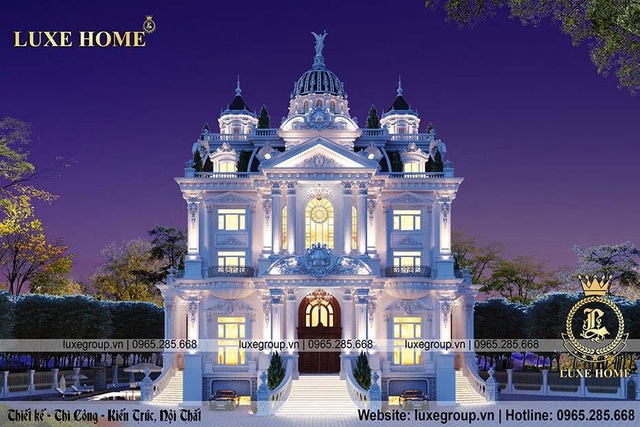 lâu đài cổ điển phong cách pháp ld 6119