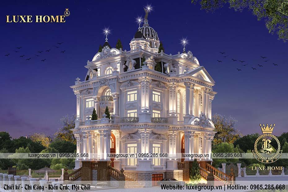 thiết kế lâu đài cổ điển ld 5112