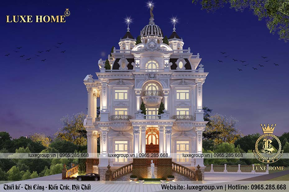 lâu đài cổ điển về đem ld 5112