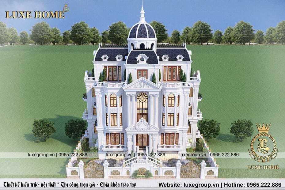 lâu đài đậm phong cách pháp ở nghệ an ld 41113