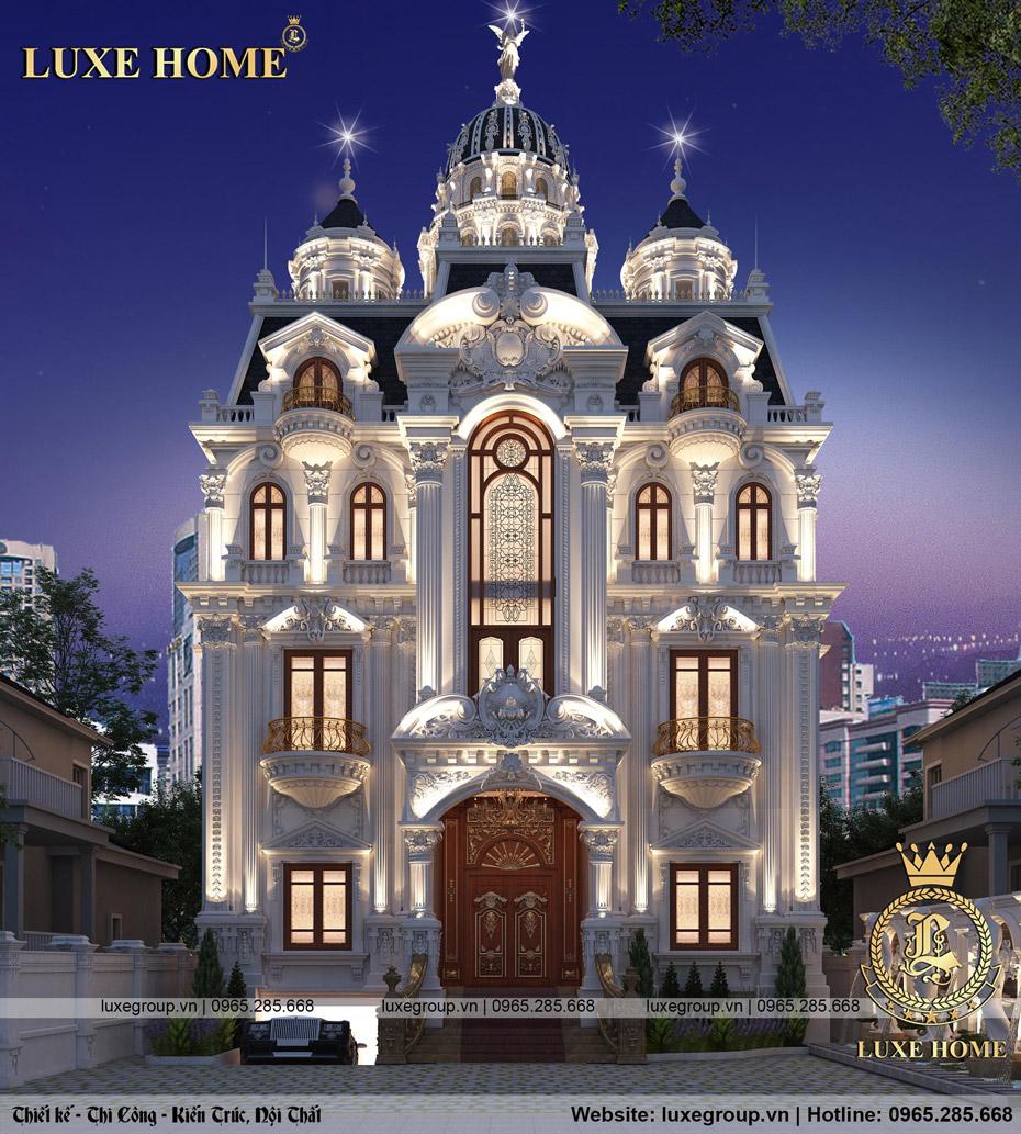 lâu đài cổ điển pháp ld 5118