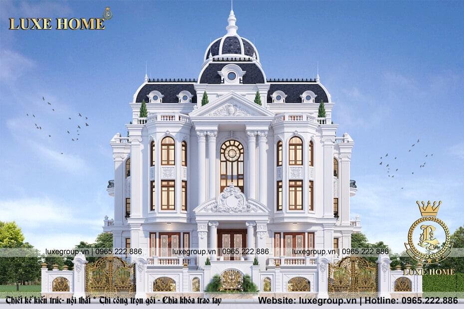 lâu đài kiểu pháp ld 41113