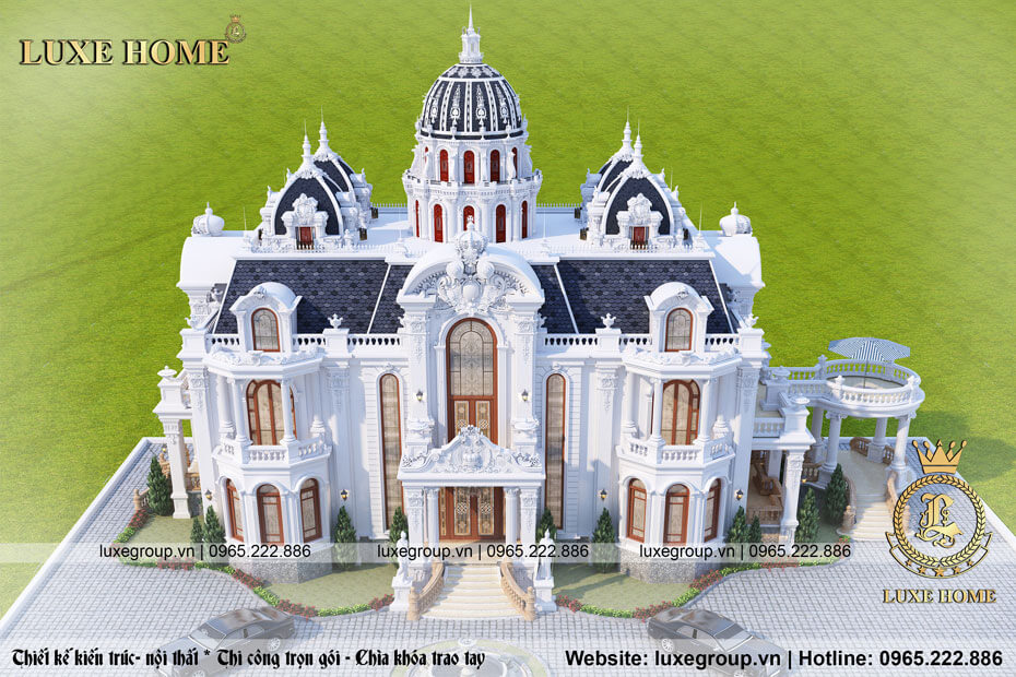 lâu đài tân cổ điển 2 tầng ld 21588 02