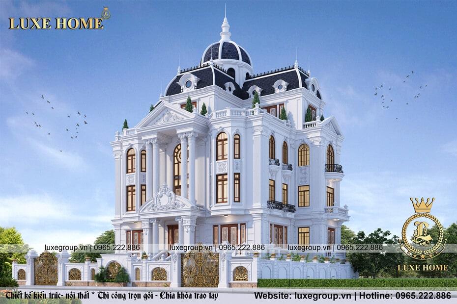 lâu đài tân cổ điển 4 tầng ld 41113
