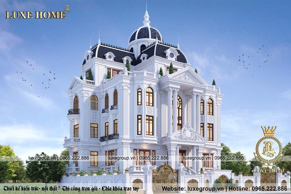 lâu đài tân cổ điển 4 tầng ld 41118