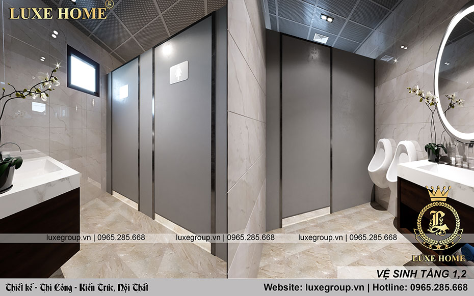 nhà vệ sinh quán coffe