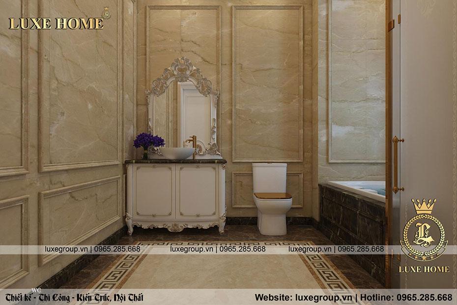 phòng tắm sang trọng hiện đại