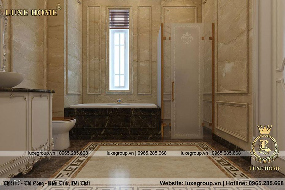 nhà tắm biệt thự chú vinh