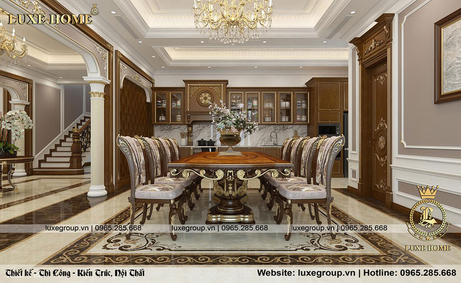 phòng ăn chú vinh