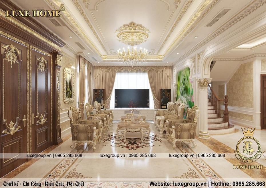 thiết kế nội thất phong khách nt 0149