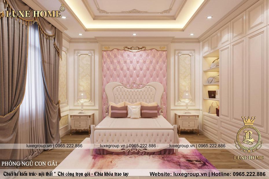phòng ngủ cho con gái thơ mộng
