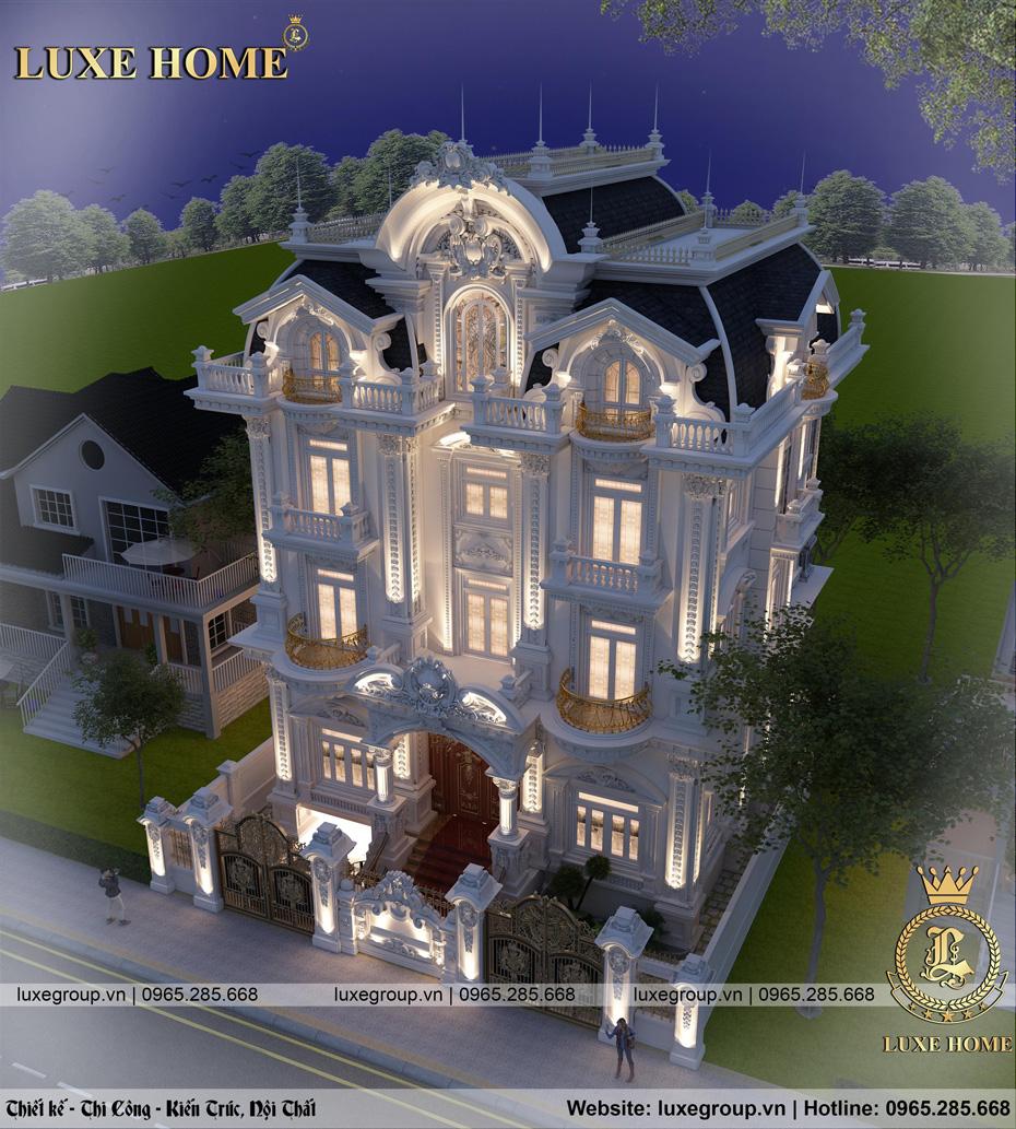lâu đài 5 tầng pháp ld 5116