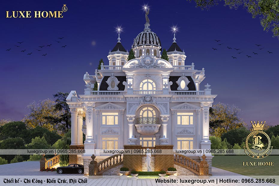 mẫu lâu đài cổ điển đẳng cấp ld 41155