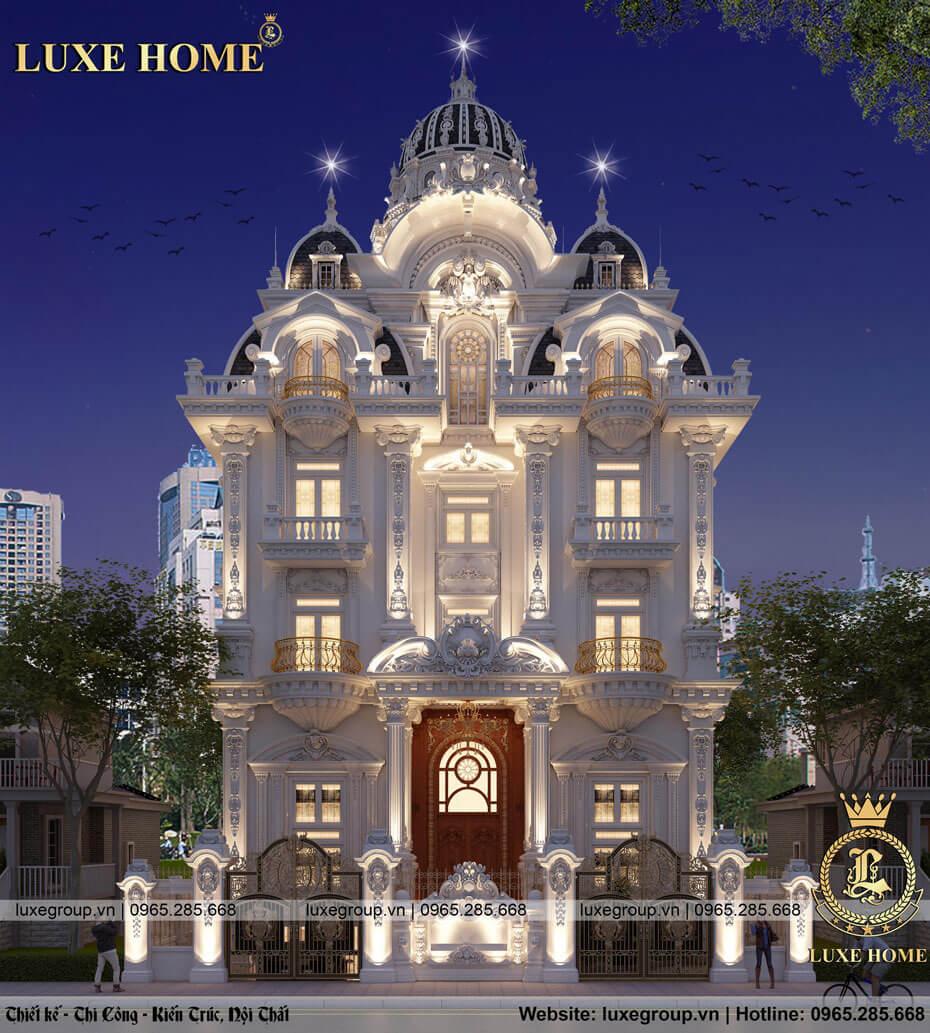 thiết kế lâu đài cổ điển ld 5114