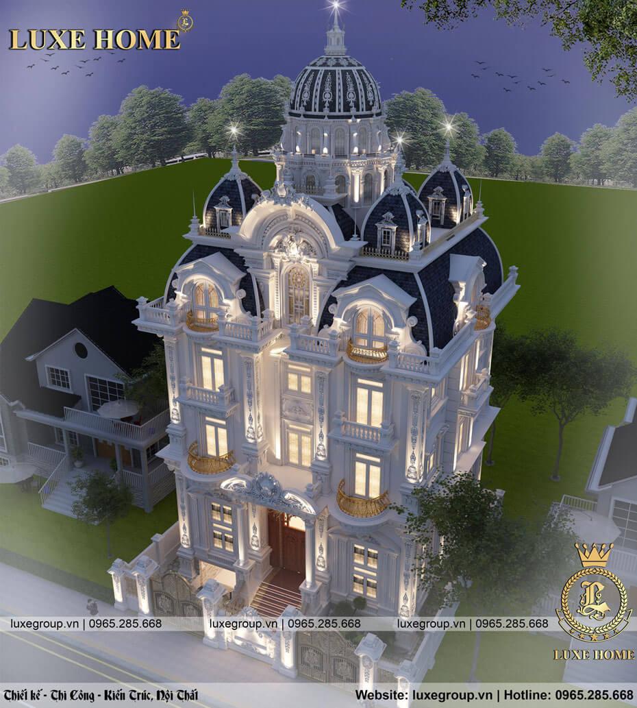thiết kế lâu đài cổ điển tại hcm