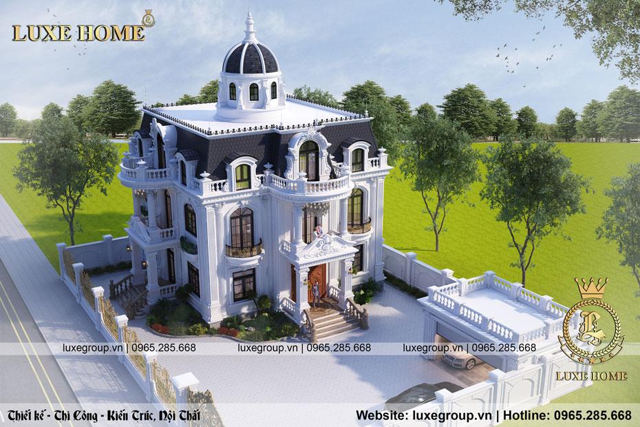 lâu đài 2 tầng tân cổ điển ld 2217