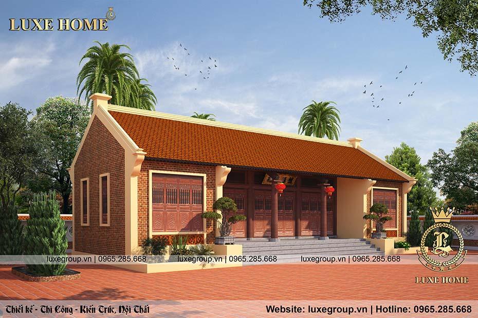 thiết kế nhà thờ họ bt 2218