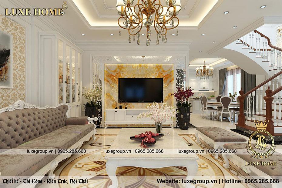 nội thất tinh tế phòng khách nt 0155