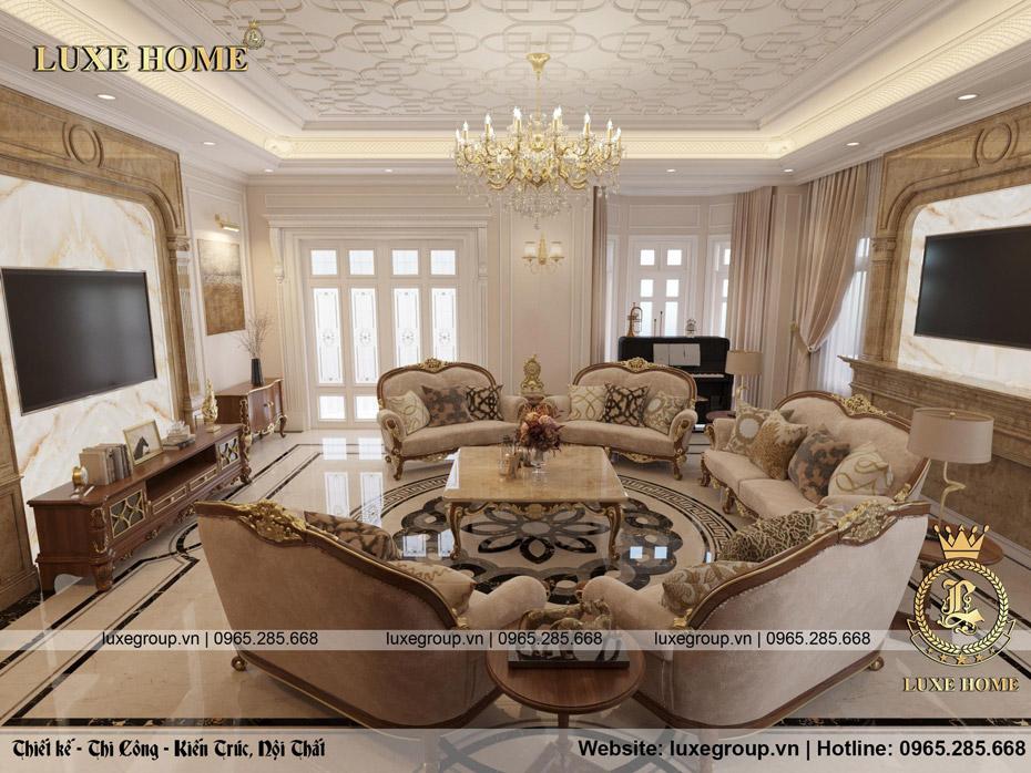 thiết kế nội thất phòng khách anh sang 03