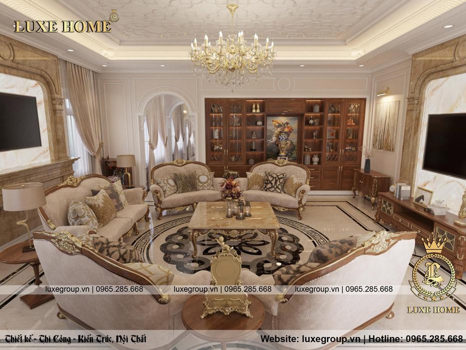 thiết kế nội thất phòng khách anh sang 04