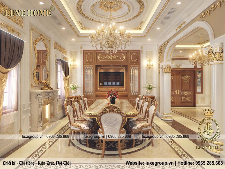 nội thất phòng bếp đẹp sang trọng nt 0145