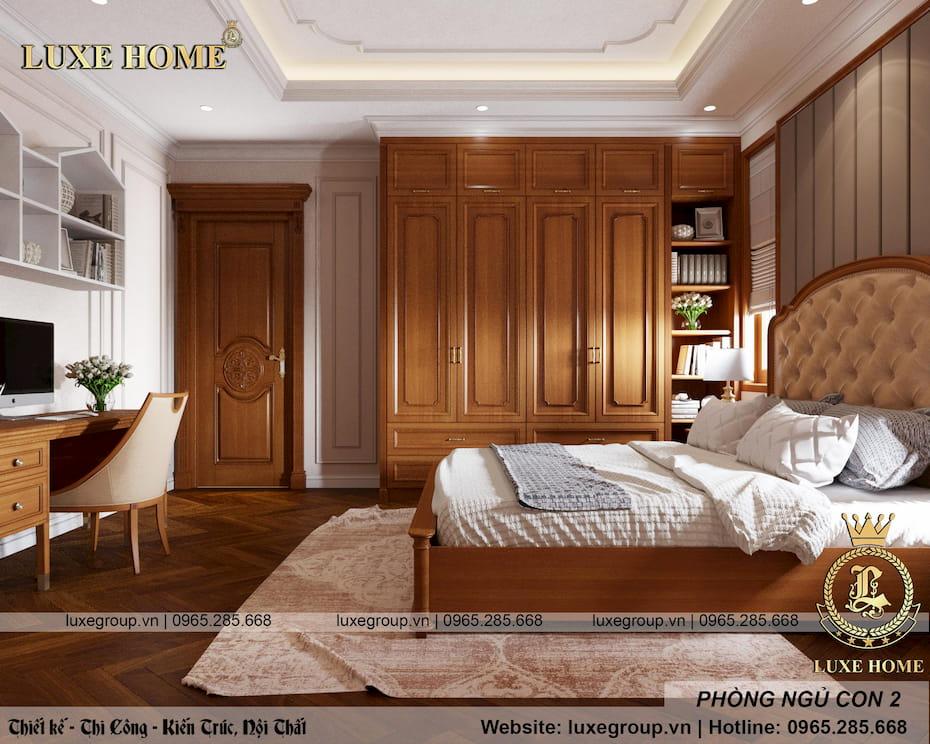 không gian phòng ngủ con anh khuê 09