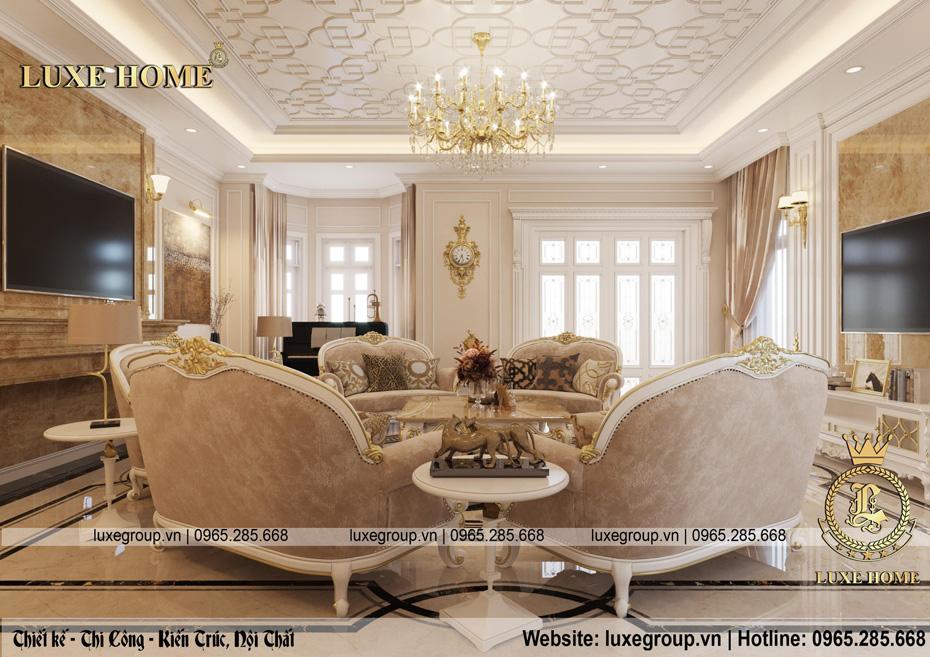 nội thất lâu đài phòng khách ld 1168 03